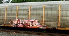 anti (timetomakethepasta) Tags: anti 505 187 tlc lurking class freight train graffiti ttx autorack