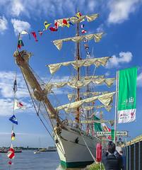 Mexican Sailship Cuauhtemoc (capvera) Tags: mexico sailing cuauhtemoc tallshipraces