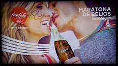 Coca-Cola-Rio-de-Janeiro-Olympics-2016---Kisses-Maraton - news stand (roitberg) Tags: advertising coke cocacola olympics coca 2016 propadanga cocacolaoutdoor