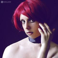 Meelee 8296 (Karolina Meelee) Tags: crossdresser trap transvestite portrait short hair redhead pretty model femboy style gay lgbt