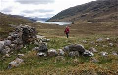 STRATHAN: Remains of Jacobite era barracks (5/16 an034) (Ted and Jen) Tags: strathan jacobite barracks arkaig tgoc scotland greatoutdoorchallenge
