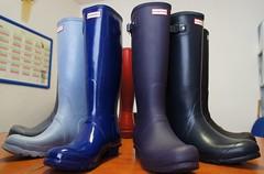Hunter colours (peternature) Tags: boots rubber hunter wellies gummistiefel