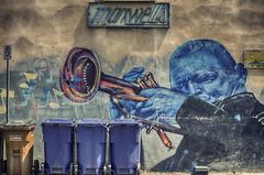 Maxwell's (flashfix) Tags: urban ontario canada sign painting graffiti nikon mural downtown notes ottawa blues urbanart musical trashbins 2016 garbagebins nikond7000 55mm300mm 2016inphotos july202016