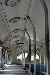 Three Valley Gap (~ Blu ~) Tags: old bus blu historic seats hwy1 handholds