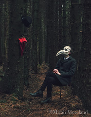 Nightmare (micahmoreland) Tags: abandoned film strange mystery forest movie costume scary woods funny mood moody surrealism dream surreal cheeky creepy mysterious horror isolation nightmare disturbing derelict plague plaguedoctor atmopsheric horrorsurrealism