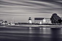 Lewis Bay Light (bprice0715) Tags: canon canoneos5dmarkiii canon5dmarkiii landscapephotography landscape nature naturephotography lighthouse lewisbaylight lewisbaylighthouse lewisbay hyannis hyannisharbor longexposure blackandwhite blackwhite bw travel capecod