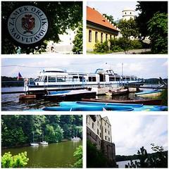 Жаль, что в самом замке снимать запрещено, но ради местных пейзажей и экскурсии по замку стоит сюда приехать #история #Чехия #лето #суббота #замок
