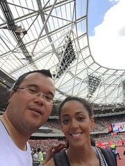 Katarina_Johnson_Thompson (Commander Idham) Tags: muller anniversary games saturday 23 july 2016 team gb great britain rio athletics london olympic stadium 100m relay 3000m steeplechase long jump hurdles 110m katarina johnsonthompson
