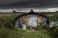 Lindisfarne Boat Shed (D-W-J-S) Tags: holy island lindisfarne northumberland boat hut shed sheds traditional