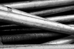 Prelude (Bernd Kretzer) Tags: rohre tubes abstrakt abstract schwarzweiss blackwhite nikon afs dx zoomnikkor 1855mm 13556g