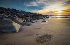 Bubble Sand (muhammadhilmi.harun) Tags: borneo miri sarawak malaysia sand bubble sunset beach seascape coast