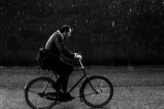 Rain again (Jan Jespersen) Tags: 50mm canon canon6d denmark platea plateastreetphotocollective bicycle city citylife copenhagen cycling everybodystreet igerdk janjespersenphotography rain spicollective street streetphoto streetphotography urban urbanlife urbanscene urbanscenes