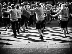 Walk this way (GBaker63) Tags: toronto people street bw taichi canon powershots100 shadow