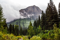 Glacier National Park roadside stop (michaelraleigh) Tags: landscape f28l serene highquality mountains 2035mm glacier pinetrees clouds trees national beautiful storm infocus sky secluded outdoors green montana park canon mountain