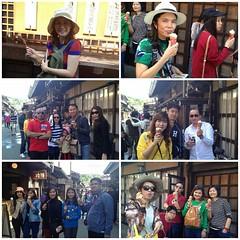 วันนี้พาลูกค้าเที่ยวย่านเมืองเก่าสไตล์เอโดะที่ซันมาชิซูจิ พร้อมกับชิมเนื้อฮิดะขึ้นชื่อของที่นี่สำหรับท่านที่ไม่ทานเนื้อเรามีไอศครีมไว้บริการด้วยครับ #takayama #sanmachisuji #compaxworld #compax #japan #เที่ยว #ทัวร์ #คุณภาพ #ญี่ป