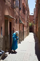 The Lady of Marrakech (JoeyHelms Photography •2.5MViews&10kFollowers•) Tags: africa street people streets canon photography morocco 7d april marrakech marrakesh arabian lightroom 2015 joeyhelmsphotography