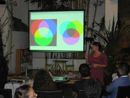 Natalia Murillo- Pintando con Luz
