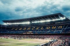 Barcelona later (MakeLifeMemorable) Tags: barcelona football stadium 16mmfisheye emilylowrey sonya7 emilylowreyphotography barcelonastadadium