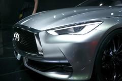 Auto Show Infinity (CLWood) Tags: car silver infinity detroit automotive panasonic concept q60 gx7 2015autoshow