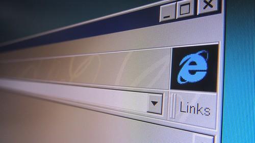 Internet Explorer symbol by Christiaan Colen, on Flickr