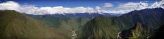 The View from Machu Picchu Mountain (Dave_Davies) Tags: panorama mountain peru machu picchu inca landscape view ruin