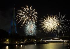 _MG_4643 (Amit Aggarwal0990) Tags: fireworks bastille paris eiffel amit bw night celebration