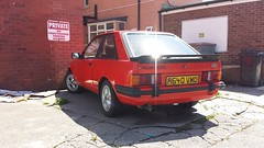 1983 Ford Escort XR3 Injection Mk3 (micrak10) Tags: ford injection escort mk3 xr3