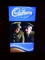 Dairy Milk Dad's Army Advert Cadbury World Birmingham July 2016 (symonmreynolds) Tags: birmingham july advert dairymilk 2016 dadsarmy cadburyworld