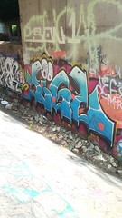 (prairiestateeffects) Tags: bridge edens 94 chicagoriver northbranch graffiti