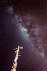 Milky Way (baldr.almeida) Tags: milkyway brazil stars astrophotography chapadadosveadeiros altoparaso gois planaltocentral tower 18105mm nikkor longexposure night nightsky