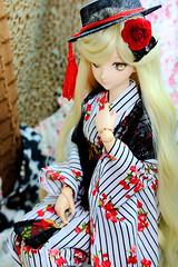 Imari's Happy First Birthday! XD! (July 23, 2016) (nanatsuhachi) Tags: doll dollfiiedreamsister dollfiedream dds dd custom imari  volks kimono