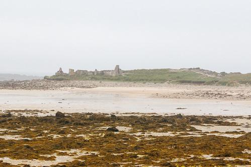 Ruines de Toul ar Staon à Pleumeur-Bodou