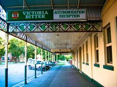 My Favourite Beer - Victoria Bitter (One Man Wondering) Tags: albury australia hotel nsw