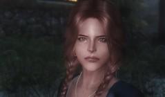 Svenja - Female Nord character preset (teriric) Tags: face character characters mods preset presets skyrim tesv racemenu