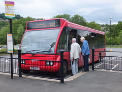 TM Travel 436 Matlock (Guy Arab UF) Tags: travel bus buses derbyshire group trent solo tm barton matlock 436 optare wellglade m920 wellgladegroup fp51gye