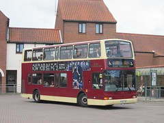 East Yorkshire 673 YY52LCN Sow Hill Bus Stn, Beverley on X46 (1280x960) (dearingbuspix) Tags: eastyorkshire 673 x46 eyms yy52lcn