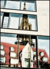 Tower Cut II (wide-angle.de) Tags: ulmcenter ulm de germany digital y201602
