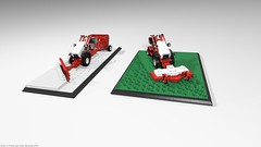 belos_03 (pehter aka ibbe) Tags: tractor lego gravely mocs lawnmover belos