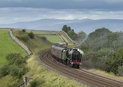 More Missing the S&C! (Eddie Hyde) Tags: scotsguardsman 46115 steamtrain steamlocomotives settlecarlisleline