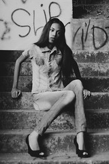 Alyne Silva, (rodolphofotografiassouza) Tags: alyne silva rodolphosantosphotography photographys rodolpho pb girl garota preto e branco foto canon t5 canont5