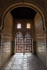 Light through Moorish window screen (RaminN) Tags: light window spain screen alhambra moorish granada