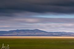 Greens of Lake George (sachman75) Tags: light sky lake clouds landscape australia farmland lakegeorge land newsouthwales layers canberra federalhighway canon70200mmf28is leefilters bigstopper sonya7rii leendgrad12