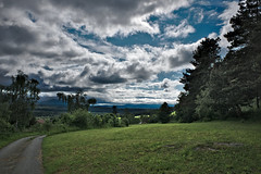 Waldviertel - Impressions (redy1966) Tags: 2016 waldviertel oesterreich wood forest quarter forestquarter lower austria nature cloudy cloud impressive dark storm heavy weather track