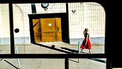 5 min to 9 (kirilko) Tags: tram streetphotography streetphoto highcontrast kyiv     ukraine shadow throughthewindow girl sunglasses ladyinred deepcontrast fujix100 fujifinepix finepixx100 urban