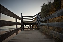 the wooden stairs of love (Anna M. Sky) Tags: portugal stair poetry algarve albufeira