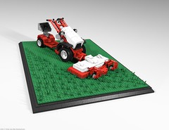 belos_09 (pehter aka ibbe) Tags: tractor lego gravely mocs lawnmover belos