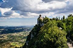 San Marino (lucarino) Tags: san marino landscape torri paesaggio cloudy nuvole