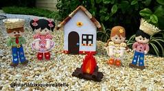 Festa Junina (mfuxiqueira) Tags: festajunina arraiá roça festanaroça decoraçãojunina feltro festainfantil decoraçãofestainfantil caipira