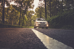 Sunday Drive (anandgovindan) Tags: anandgovindan anandgoviphotography drive road car trees maruthi maruthialto white forest valparai tamilnadu pollachi india southindia hillstation hill mountain westernghats tropicalforest rainforest trip vacation lowangle leadinglines wideangle ultrawideangle canon canon600d 1855mm adobe lightroom
