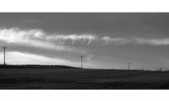 My Summer Blues (Bernd Kretzer) Tags: landschaft landscape wolken clouds schwarzweiss blackwhite nikon afs dx zoomnikkor 1855mm 13556g